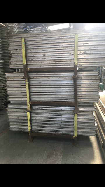 Used Alto Industrial Aluminium Scaffold Tower Double Width