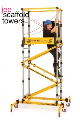 Razor Deck Instant Scaffold Tower Fast Access For Getting