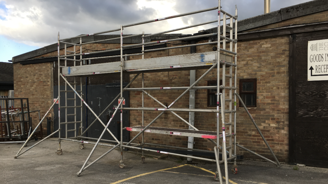 Industrial Alto Scaffold Tower Spares And Complete Towers