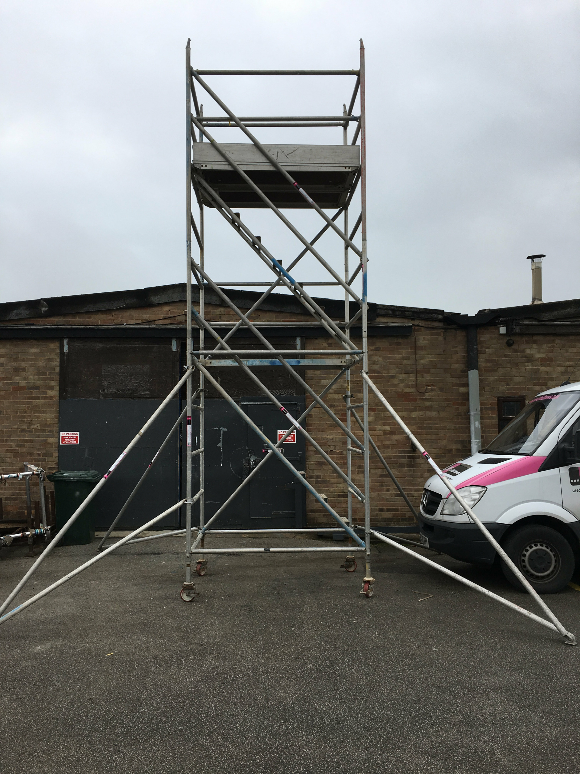 Used Alto Industrial Stair Scaffold Tower
