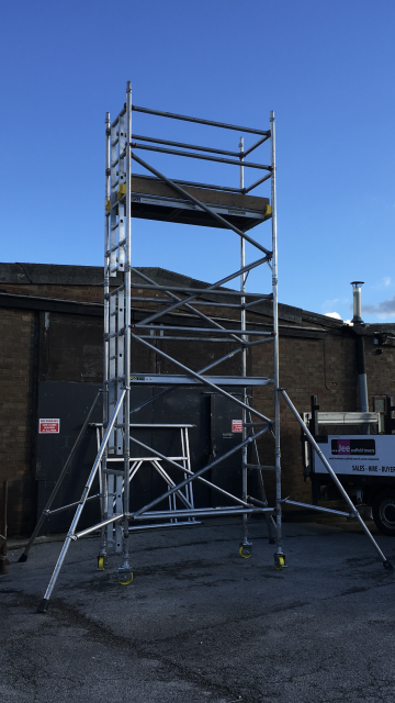 Used Boss Aluminium Scaffold Tower Sales